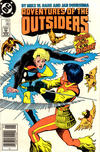 Cover for Adventures of the Outsiders (DC, 1986 series) #46 [Newsstand Edition]
