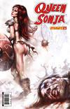 Cover for Queen Sonja (Dynamite Entertainment, 2009 series) #23 [Lucio Parrillo Cover]