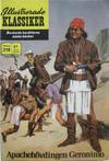 Cover for Illustrerade klassiker (Williams Förlags AB, 1965 series) #218 - Apachehövdingen Geronimo