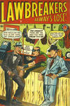 Cover for Lawbreakers Always Lose (Bell Features, 1948 series) #9