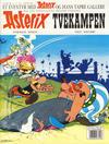 Cover for Asterix (Hjemmet / Egmont, 1969 series) #4 - Tvekampen [10. opplag]