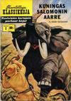 Cover for Kuvitettuja Klassikkoja (Kuvajulkaisut, 1956 series) #2 - Kuningas Salomonin aare