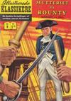 Cover for Illustrerede Klassikere (I.K. [Illustrerede klassikere], 1956 series) #9 - Mytteriet på Bounty