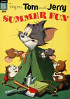 Cover for M-G-M's Tom & Jerry's Summer Fun (Dell, 1954 series) #1 [Canadian edition]