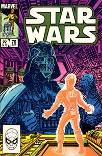 Cover Thumbnail for Star Wars (Marvel, 1977 series) #76 [Direct Edition]