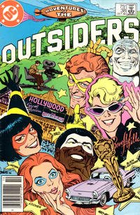 Cover Thumbnail for Adventures of the Outsiders (DC, 1986 series) #38 [Newsstand Edition]