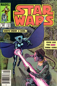 Cover Thumbnail for Star Wars (Marvel, 1977 series) #88 [Newsstand Edition]