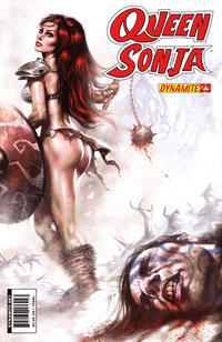 Cover Thumbnail for Queen Sonja (Dynamite Entertainment, 2009 series) #23 [Lucio Parrillo Cover]