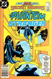 Cover Thumbnail for Secret Origins (DC, 1986 series) #10 [Newsstand Edition]