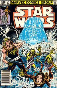 Cover Thumbnail for Star Wars (Marvel, 1977 series) #74 [Newsstand]