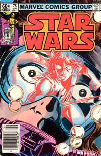 Cover Thumbnail for Star Wars (Marvel, 1977 series) #75 [Newsstand]