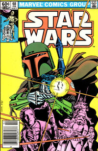 Cover Thumbnail for Star Wars (Marvel, 1977 series) #68 [Newsstand]