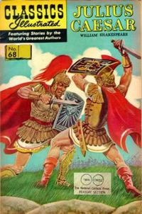 Cover Thumbnail for Classics Illustrated (Gilberton, 1947 series) #68 [HRN165] - Julius Caesar [Twin Circle]