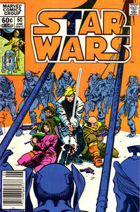 Cover Thumbnail for Star Wars (Marvel, 1977 series) #60 [Newsstand]