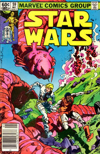 Cover Thumbnail for Star Wars (Marvel, 1977 series) #59 [Newsstand]
