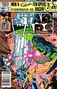 Cover Thumbnail for Star Wars (Marvel, 1977 series) #55 [Newsstand]