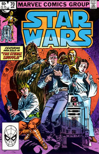 Cover for Star Wars (Marvel, 1977 series) #70 [Newsstand Edition]