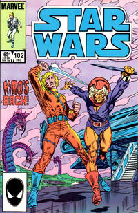Cover Thumbnail for Star Wars (Marvel, 1977 series) #102 [Direct]