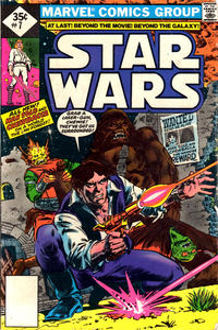 Cover Thumbnail for Star Wars (Marvel, 1977 series) #7 [Whitman]
