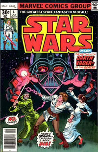 Cover Thumbnail for Star Wars (Marvel, 1977 series) #4 [30¢ Reprint Edition]