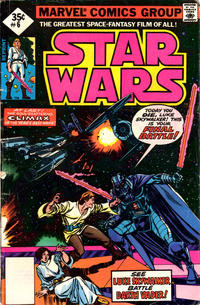 Cover Thumbnail for Star Wars (Marvel, 1977 series) #6 [Whitman Reprint Edition]