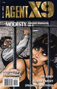 Cover Thumbnail for Agent X9 (Hjemmet / Egmont, 1998 series) #11/2011