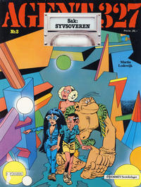 Cover Thumbnail for Agent 327 (Hjemmet / Egmont, 1985 series) #3 - Sak: Syvsoveren