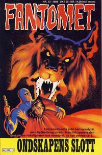 Cover Thumbnail for Fantomet (Semic, 1976 series) #13/1988