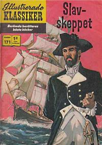Cover Thumbnail for Illustrerade klassiker (Illustrerade klassiker, 1956 series) #171 - Slav-skeppet