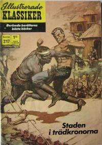 Cover Thumbnail for Illustrerade klassiker (Williams Förlags AB, 1965 series) #217 - Staden i trädkronorna