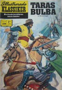 Cover Thumbnail for Illustrerade klassiker (Williams Förlags AB, 1965 series) #226 - Taras Bulba