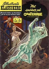 Cover Thumbnail for Illustrerte Klassikere [Classics Illustrated] (Illustrerte Klassikere / Williams Forlag, 1957 series) #139 - Det spøker på Canterville