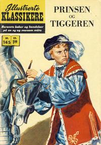 Cover Thumbnail for Illustrerte Klassikere [Classics Illustrated] (Illustrerte Klassikere / Williams Forlag, 1957 series) #145 - Prinsen og tiggeren
