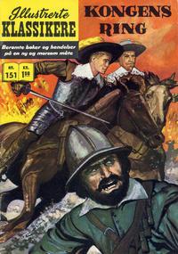 Cover Thumbnail for Illustrerte Klassikere [Classics Illustrated] (Illustrerte Klassikere / Williams Forlag, 1957 series) #151 - Kongens ring