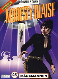 Cover Thumbnail for Modesty Blaise (Hjemmet / Egmont, 1998 series) #25 - Månemannen [Reutsendelse bc 512 10]