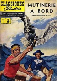 Cover Thumbnail for Classiques Illustrés (Publications Classiques Internationales, 1957 series) #2 - Mutinerie à bord