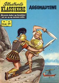 Cover Thumbnail for Illustrerte Klassikere [Classics Illustrated] (Illustrerte Klassikere / Williams Forlag, 1957 series) #154 - Argonautene