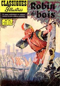 Cover Thumbnail for Classiques Illustrés (Publications Classiques Internationales, 1957 series) #12 - Robin des Bois