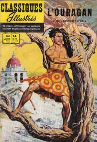 Cover Thumbnail for Classiques Illustrés (Publications Classiques Internationales, 1957 series) #14 - L'ouragan