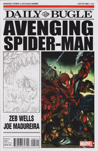 Cover Thumbnail for Avenging Spider-Man Daily Bugle (Marvel, 2011 series) #1
