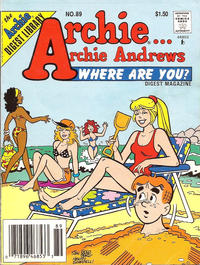 Cover Thumbnail for Archie... Archie Andrews Where Are You? Comics Digest Magazine (Archie, 1977 series) #89