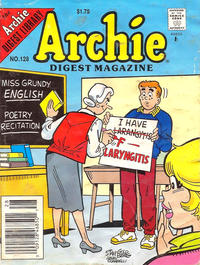 Cover Thumbnail for Archie Comics Digest (Archie, 1973 series) #128