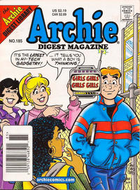 Cover for Archie Comics Digest (Archie, 1973 series) #185