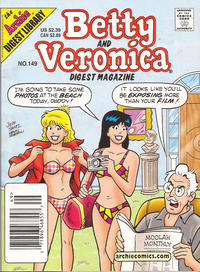 Cover Thumbnail for Betty and Veronica Comics Digest Magazine (Archie, 1983 series) #149