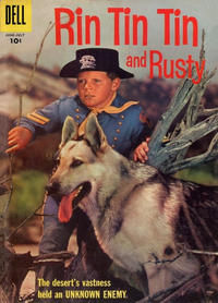 Cover Thumbnail for Rin Tin Tin (Dell, 1954 series) #19 [10¢ edition]