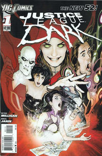 Cover Thumbnail for Justice League Dark (DC, 2011 series) #1 [Second Printing]