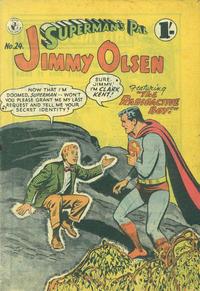 Cover Thumbnail for Superman's Pal, Jimmy Olsen (K. G. Murray, 1955 series) #24