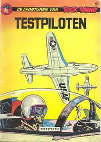 Cover Thumbnail for Buck Danny (Dupuis, 1949 series) #10 - Testpiloten
