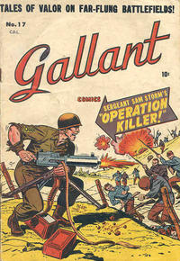 Cover Thumbnail for Gallant (Bell Features, 1951 ? series) #17
