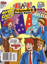 Cover Thumbnail for B&V Friends Double Digest Magazine (Archie, 2011 series) #212 [Newsstand]